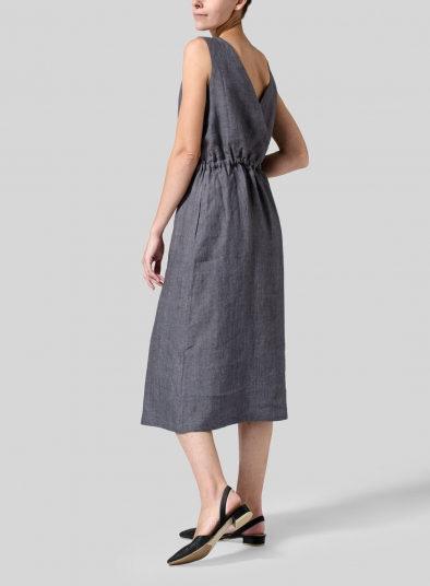 Linen Jumper Skirt