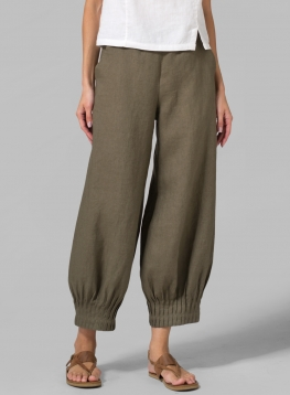 Linen Pants | Plus Size Clothing