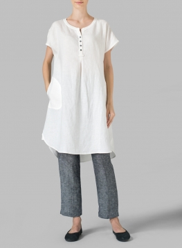 Linen Tunics | Plus Size Clothing
