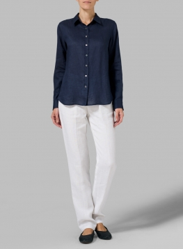 Linen Classic Long Sleeve Shirt