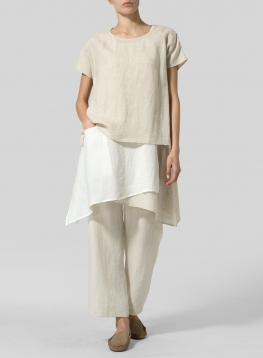 Linen Layered Top
