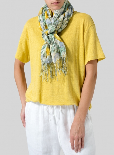 Linen Summer Real Scarf