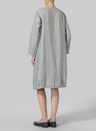 Linen Luxe Pocketed Dress
