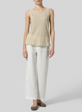 Linen Cotton Tank Top