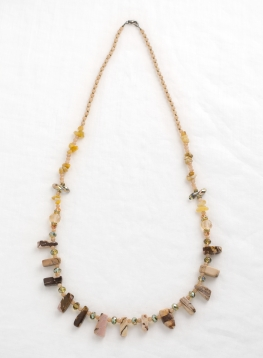 Multi-colour Stone Necklace