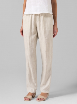 Linen Casual Long Pants