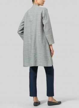 Linen Long Sleeve A-Line Tunic